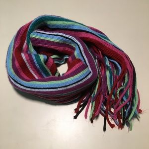 Rainbow Fringe Scarf New York & Co Acrylic